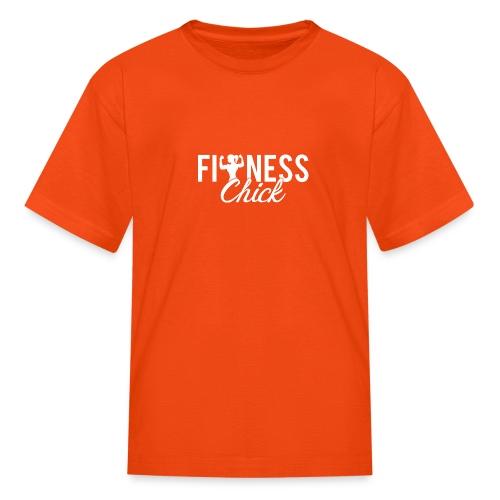 Fitness Chick - Kids' T-Shirt