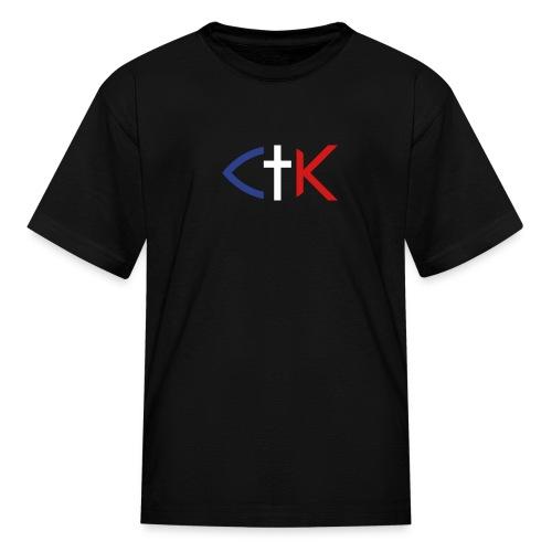 ctkfishsvg - Kids' T-Shirt