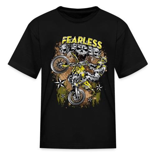 Fearless Motocross Suzuki - Kids' T-Shirt