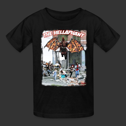 The Hellaphant Alternate Concept: Re-Issue - Kids' T-Shirt