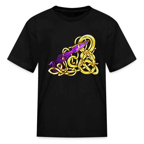 Celtic Squid - Kids' T-Shirt
