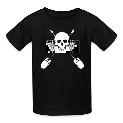 Keyboard Assault - Kids' T-Shirt