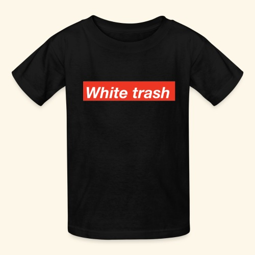 White trash - Kids' T-Shirt