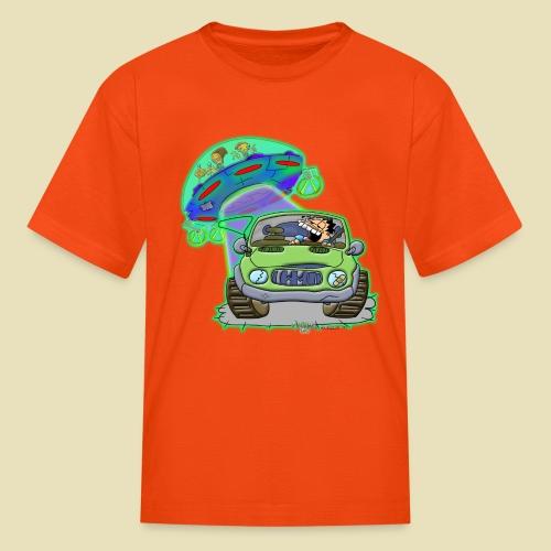 GrisDismation Ongher's UFO Alien Abduction - Kids' T-Shirt