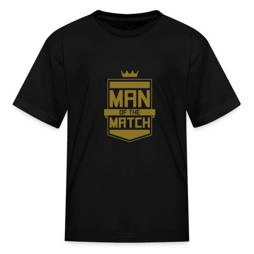Man of the Match - Kids' T-Shirt