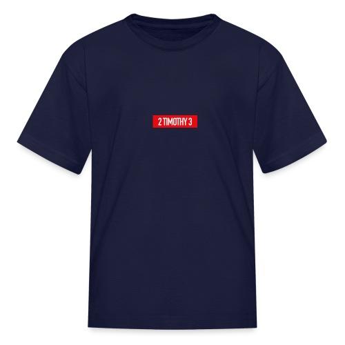 Timothy Badge - Kids' T-Shirt