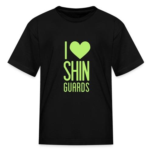 I Heart Shin Guards Women's Tee - Kids' T-Shirt