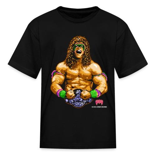 Warrior 16 Bit - Kids' T-Shirt