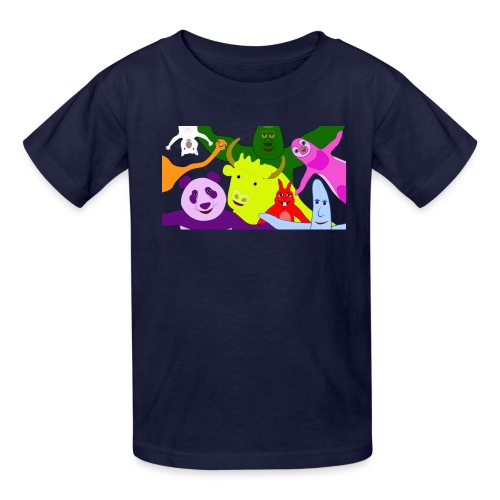 animals tshirt 1 - Kids' T-Shirt