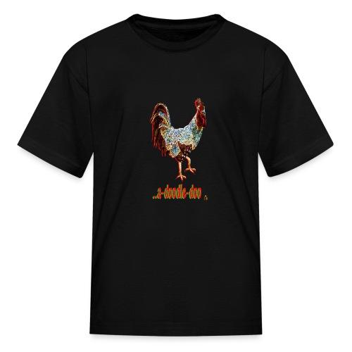 A Doodle Doo - Kids' T-Shirt