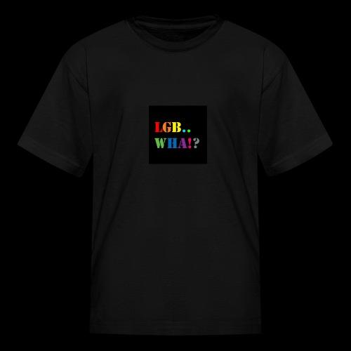 Subhan Squad LGB.. WHA!? logo t-shirt - Kids' T-Shirt