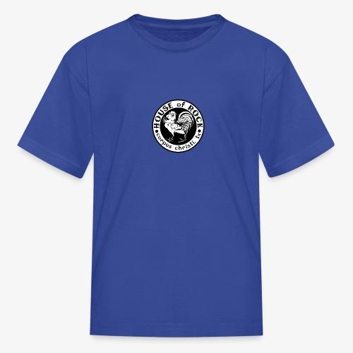 House of Rock round logo - Kids' T-Shirt