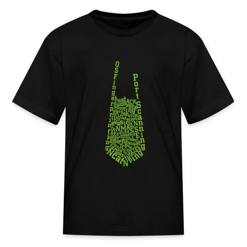 Nmap Tie - Kids' T-Shirt
