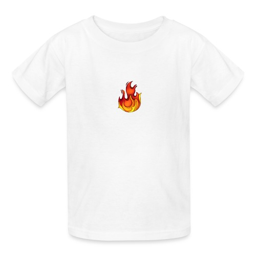 Scorchy White Logo - Kids' T-Shirt