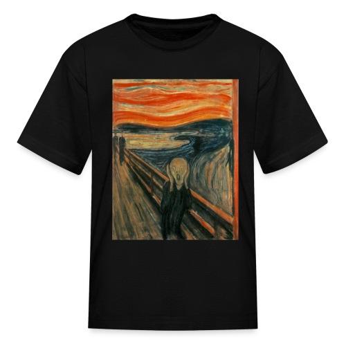 The Scream (Edvard Munch) - Kids' T-Shirt