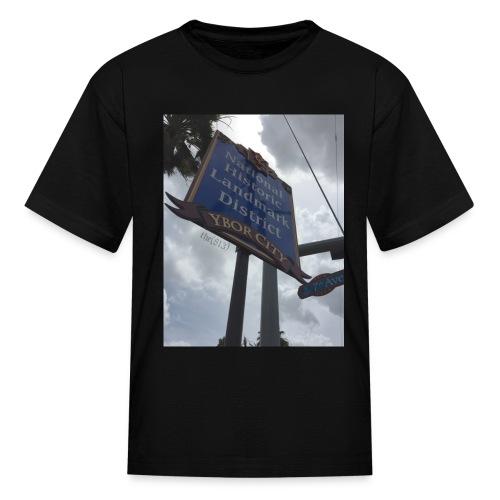 Ybor City NHLD - Kids' T-Shirt