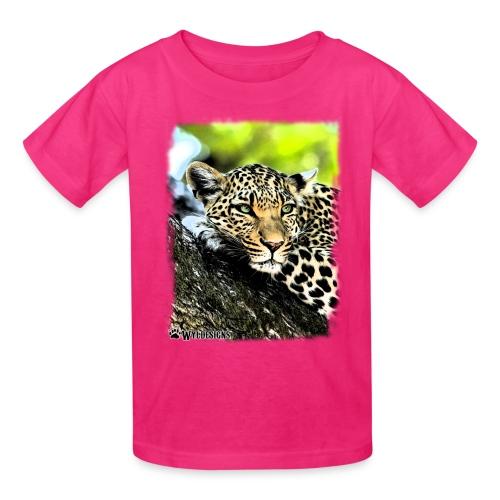 Leopard On A Tree - Kids' T-Shirt