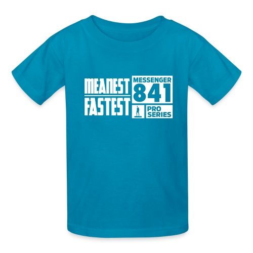 Messenger 841 Meanest and Fastest Crew Sweatshirt - Kids' T-Shirt