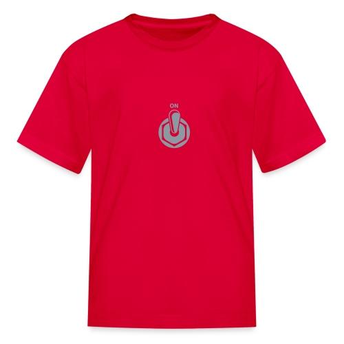 on switch - Kids' T-Shirt