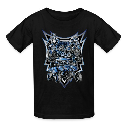 Extreme Life Style Blue - Kids' T-Shirt