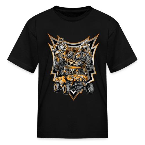 Extreme Life Style Orange - Kids' T-Shirt