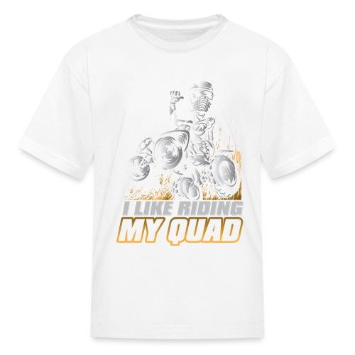 ATV Quad Like Stunt Rider - Kids' T-Shirt