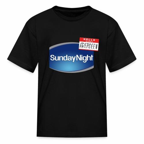Sunday Night - Kids' T-Shirt