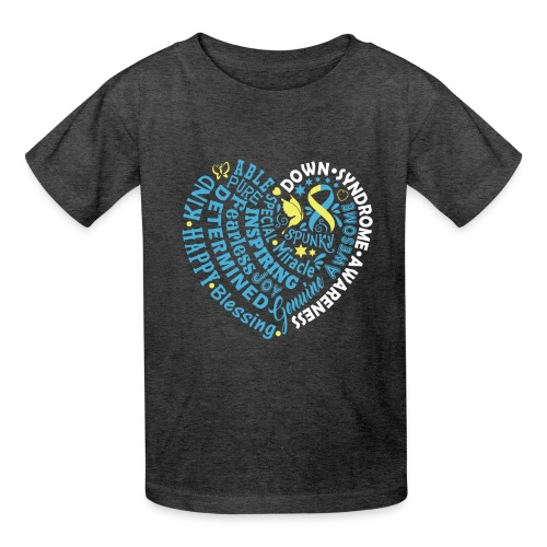 Heart Wordle - Kids' T-Shirt