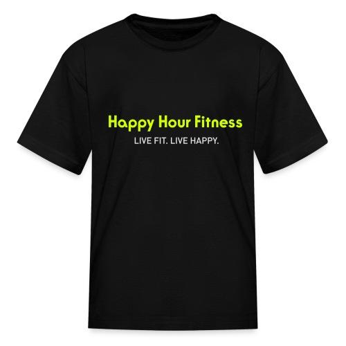 HHF_logotypeandtag - Kids' T-Shirt