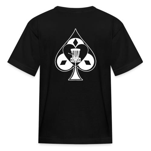 Disc Golf Lucky Ace Shirt or Prize - Kids' T-Shirt