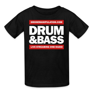 Drum and Bass - Kids' T-Shirt