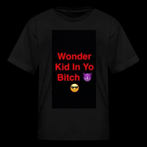 snapchat logo 6 - Kids' T-Shirt
