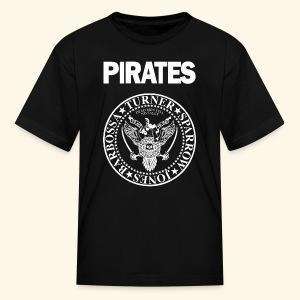 Punk Rock Pirates [heroes] - Kids' T-Shirt