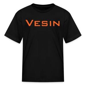 Vesin_playZ text design - Kids' T-Shirt