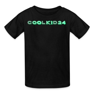 Cool kid 24 design - Kids' T-Shirt