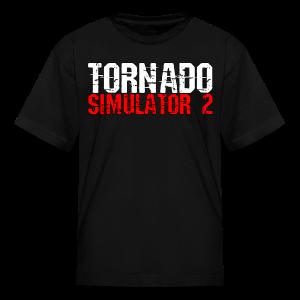 Tornado Simulator 2 T-Shirt - Kids' T-Shirt