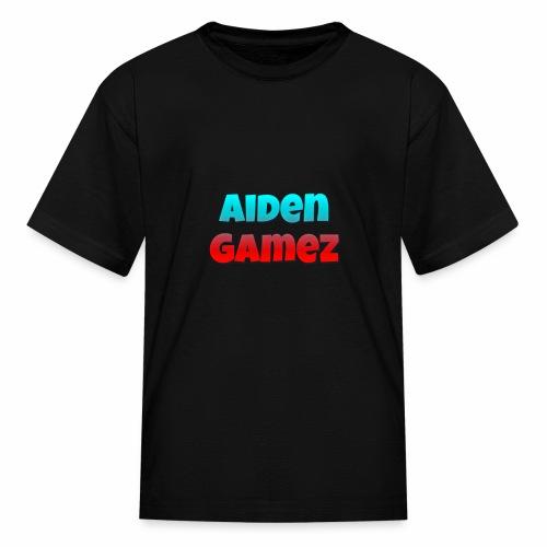 AidenGamez logo - Kids' T-Shirt