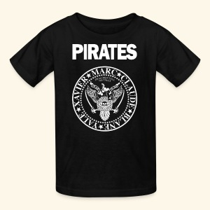 Punk Rock Pirates [legends] - Kids' T-Shirt