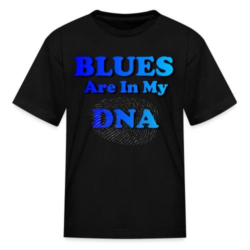 Blues DNA - Kids' T-Shirt