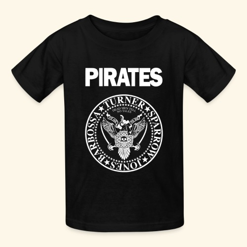 Punk Rock Pirates [heroes] - Kids' T-Shirt