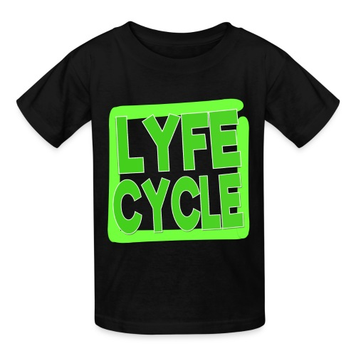 LYFECYCLE SQUARE - Kids' T-Shirt