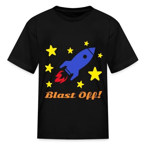 Blast Off - Kids' T-Shirt