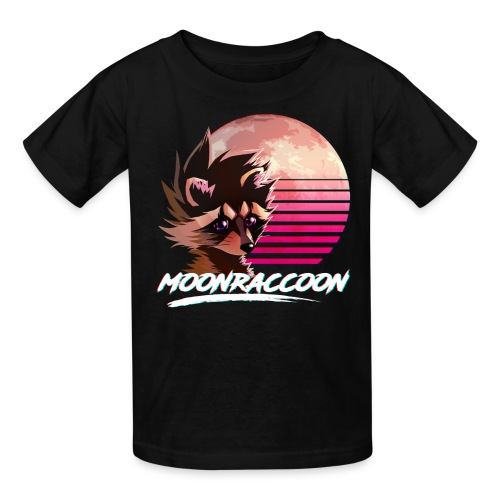 Moonraccoon - Kids' T-Shirt