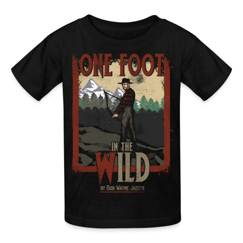 One Foot in the Wild Vintage Novel Gear - Kids' T-Shirt