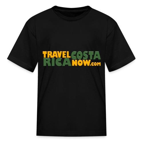 Travel Costa Rica Now LOGO - Kids' T-Shirt
