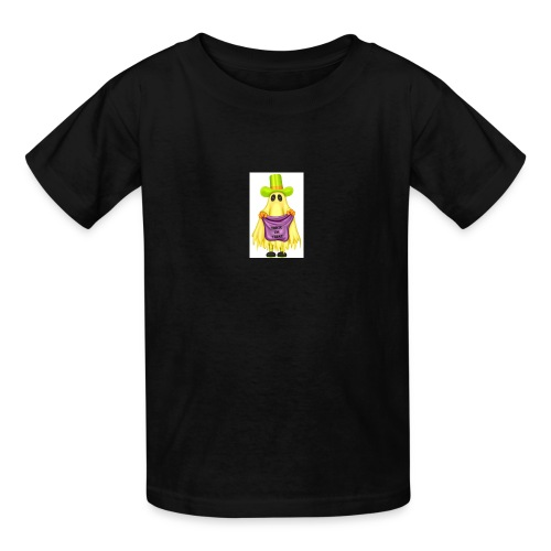 Little ghost going trick or treating - Kids' T-Shirt