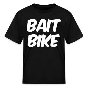 BAIT BIKE WHITE - Kids' T-Shirt