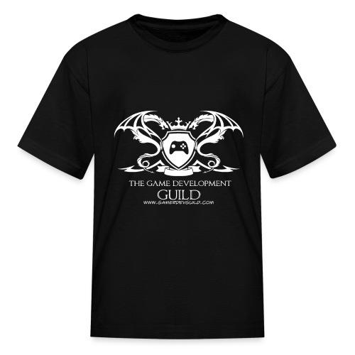 White Game Development Guild Crest - Kids' T-Shirt