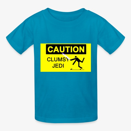 The Clumsy Jedi Official Logo - Kids' T-Shirt