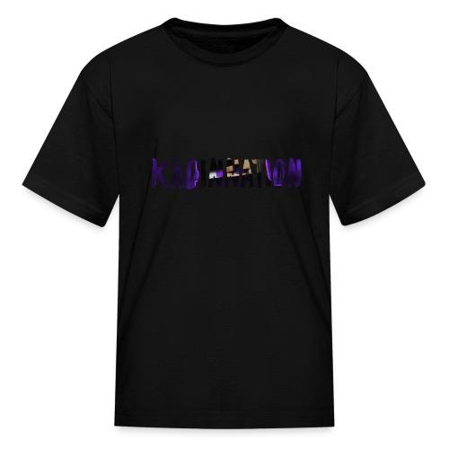 KadinNation Text - Kids' T-Shirt